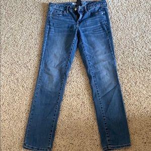 Mossimo Mid Rise Straight Leg Jean 8/29R